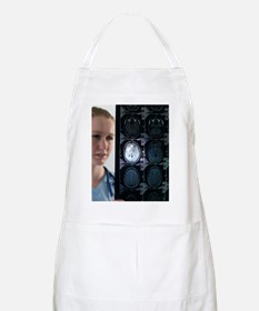 Doctor studying an MRI scan Apron
