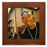 Soulja Slim Framed Tile