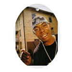 Soulja Slim Oval Ornament