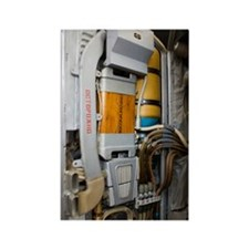 Russian spacesuit interior Rectangle Magnet