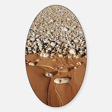 Sand and shingle Sticker (Oval)