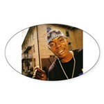 Soulja Slim Oval Sticker