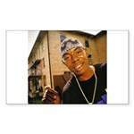 Soulja Slim Rectangle Sticker