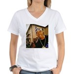 Soulja Slim Women's V-Neck T-Shirt