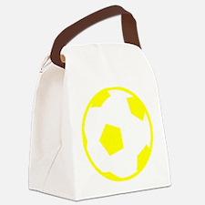 Soccer Sweden Canvas Lunch Bag