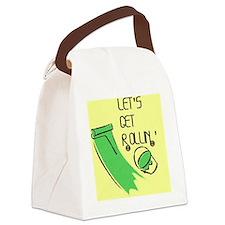 Lets get rollin Canvas Lunch Bag