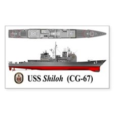 USS Shiloh CG-67 Decal
