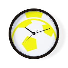 Sweden Soccer Ball Crown Wall Clock