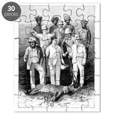Russian imperial hunting party, 1890 Puzzle