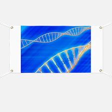 DNA strand, artwork Banner
