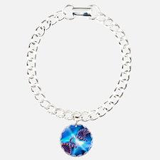 DNA strand, artwork Bracelet