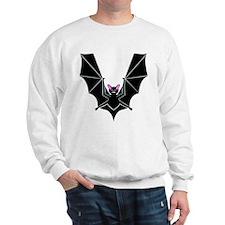 V is for Vampire Bat Sweatshirt
