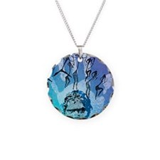 Rock painting Necklace
