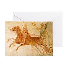 Roman fresco, Ostia Antica Greeting Card