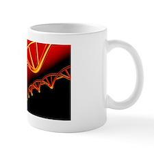DNA molecules, conceptual artwork Mug
