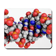DNA molecule, artwork Mousepad