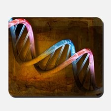 DNA molecule, artwork Mousepad