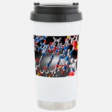 DNA molecule, artwork Travel Mug
