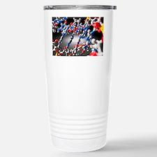 DNA molecule, artwork Travel Mug