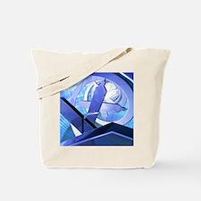 DNA molecule, conceptual artwork Tote Bag