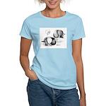 Marchenero Pouter Pigeons Women's Light T-Shirt