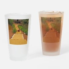 Rice grains drying Drinking Glass