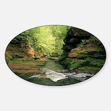 River Sticker (Oval)