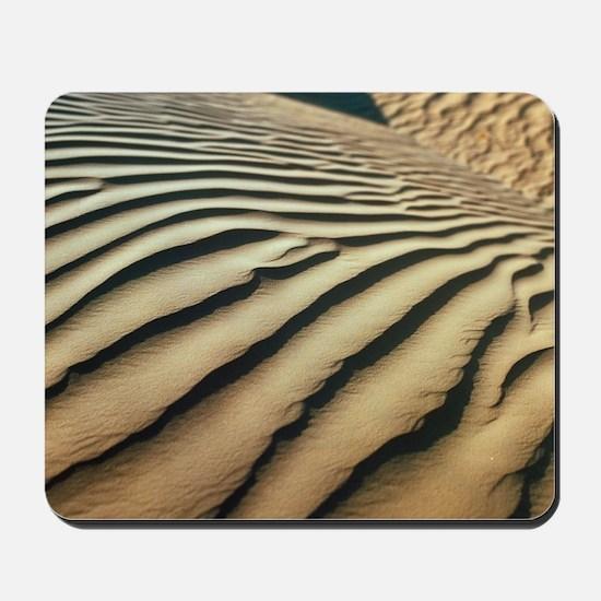 Rippled sand dunes Mousepad