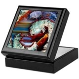 Agates Square Keepsake Boxes