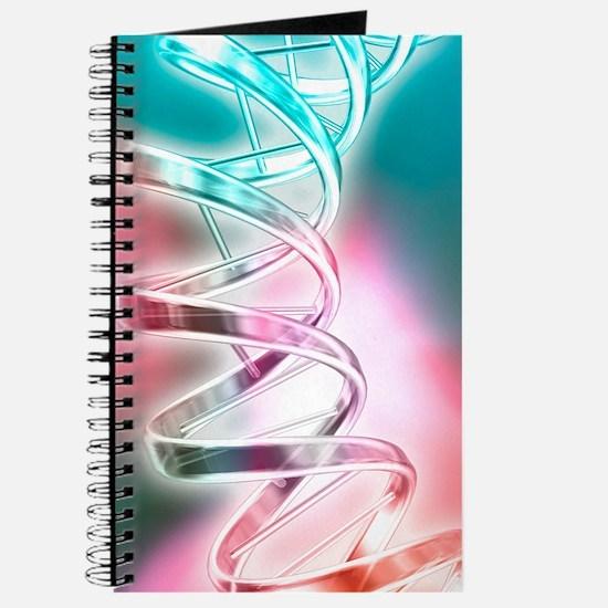 DNA molecule, artwork Journal