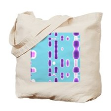 DNA autoradiogram, artwork Tote Bag