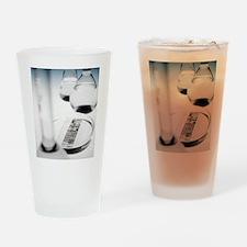 DNA autoradiogram Drinking Glass
