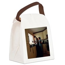 Residential geriatric care Canvas Lunch Bag