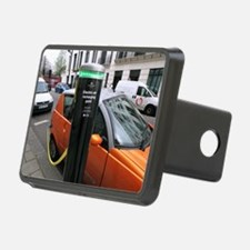 Recharging an electric car Hitch Cover