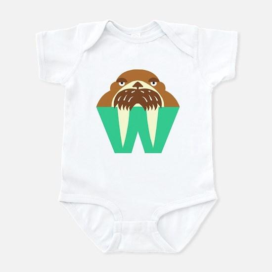 W is for Walrus Infant Bodysuit