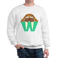 W is for Walrus Sweatshirt
