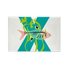 X is for Xanadu Rectangle Magnet (100 pack)