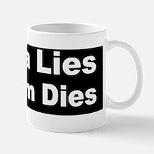 obama lies freedom diesdbump Mug