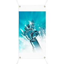 Cybernetic arm, artwork Banner