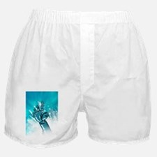 Cybernetic arm, artwork Boxer Shorts