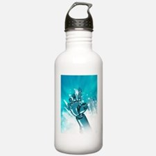 Cybernetic arm, artwor Water Bottle