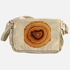 Cut agate Messenger Bag