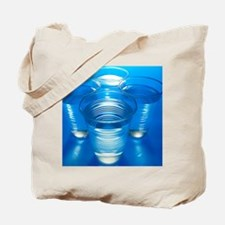 Cups of water Tote Bag