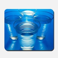 Cups of water Mousepad