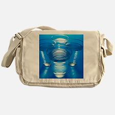 Cups of water Messenger Bag