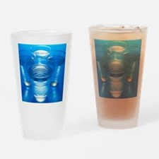 Cups of water Drinking Glass