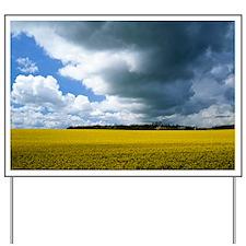 Rain clouds Yard Sign