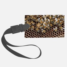 Queen bee with worker bees Luggage Tag