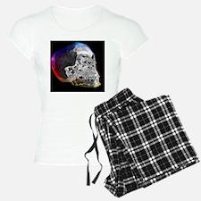 Crystal skull, artwork Pajamas