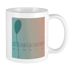 Happy Birthday Balloon Mugs